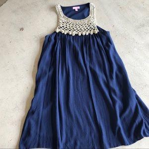 Lilly Navy Dress